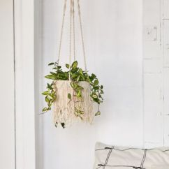 Hanging Chair Urban Outfitters Modern Kids Chairs Terrariums Indoor Planters Natalie Macrame Planter