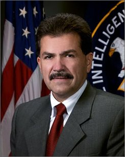 This undated handout photo provided by the CIA shows Jose Rodriguez. One of the CIA's top spooks has come out of the shadows. With little fanfare, Rodriguez, who heads the National Clandestine Service, had his cover lifted about a month ago. CIA spokesman Mark Mansfield said the driving factor was his interest in publicly participating in minority recruitment events. He's also retiring later this year after more than three decades with the agency. (AP Photo/CIA)