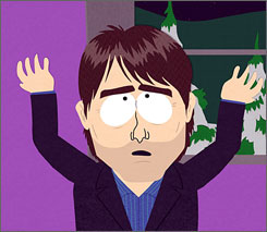 Tom Cruise in South Park