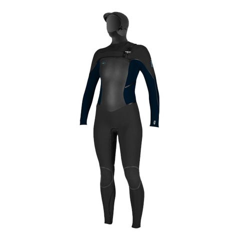 O'neill Psychotech Hooded 5.5/4MM Wetsuit - Women's Blk 12