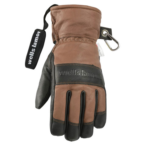Wells Lamont Guide Glove Brown and Black Lg