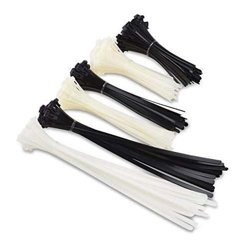 Cable Matters 200 Reusable 6+8+12-Inch Nylon Cable Ties