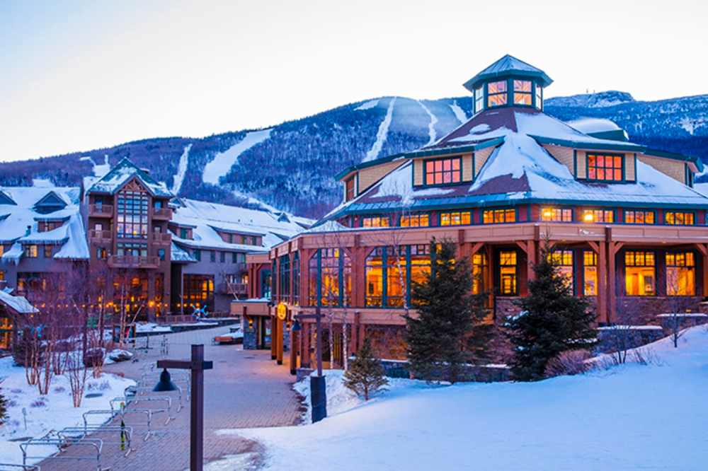 Image result for Stowe city in winter in usa