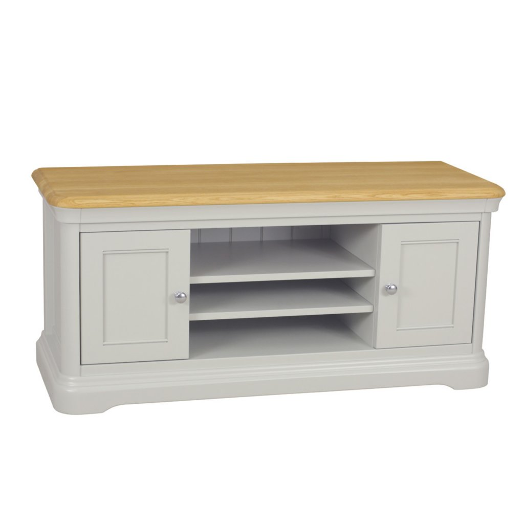 Vale Furnishers Oliver Painted Wide TV Unit