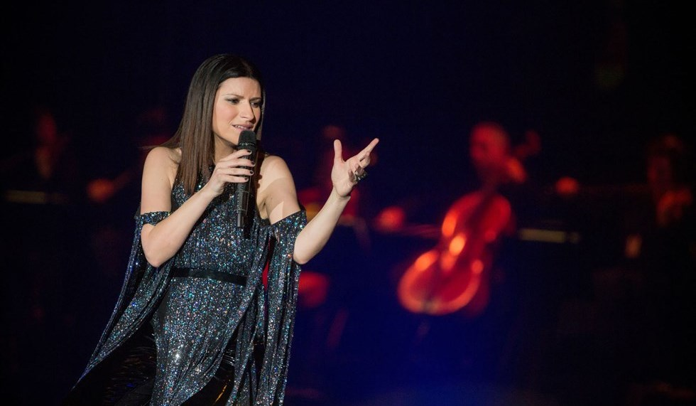 Laura Pausini, lo show di Taormina in tv