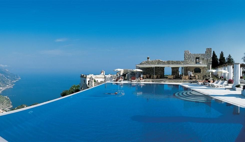Hotel Caruso Ravello la Costiera Amalfitana anni 50  VanityFairit