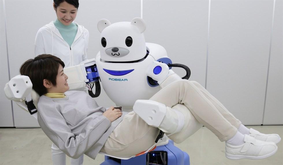 Robear il robot infermiere