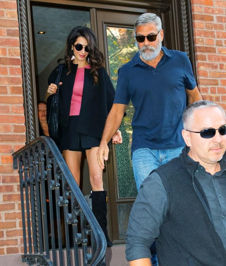 George e Amal Clooney, vacanze coi figli sul lago di Como