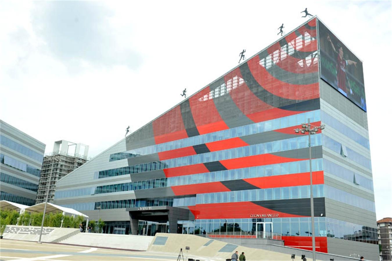 Benvenuti a Casa Milan apre oggi la nuova sede dei rossoneri  VanityFairit