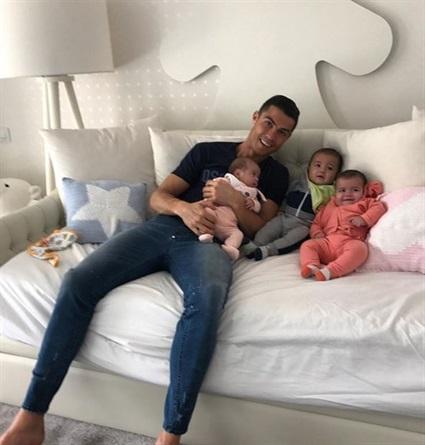 Nella casa di Cristiano Ronaldo per un anno
