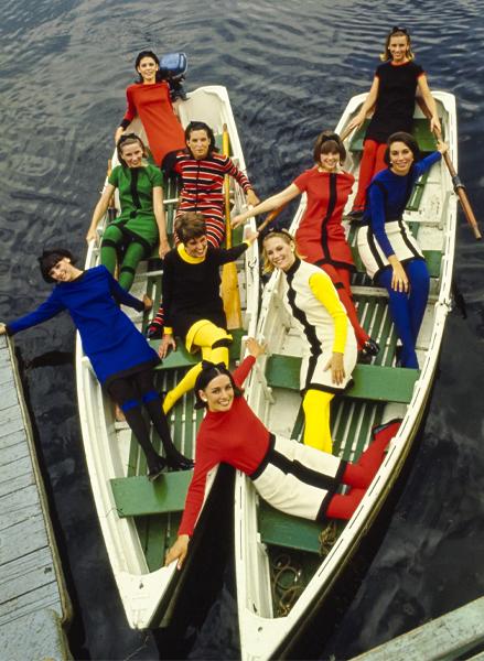 1965, le ragazze del college Smith fotografate per il magazine Glamour