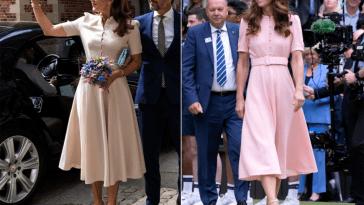 Wimbledon style: se la Principessa Mary di Danimarca ispira Kate Middleton