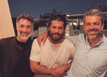 Raoul Bova, Can Yaman e Luca Argentero: il trio delle meraviglie