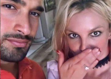 Britney Spears e Sam Asghari si sposano: ecco l'anello