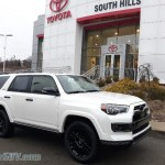 2020 Toyota 4runner Nightshade Edition 4x4 In Blizzard White Pearl 777321 Vannsuv Com Vans And Suvs For Sale In The Us