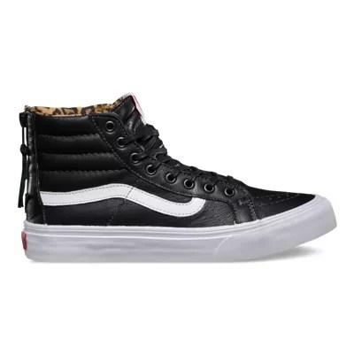 Leather sk hi slim zip also shop shoes at vans rh