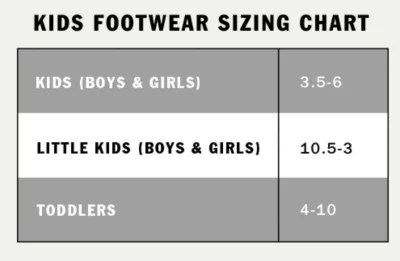 Kids size chart also custom shoes vans rh