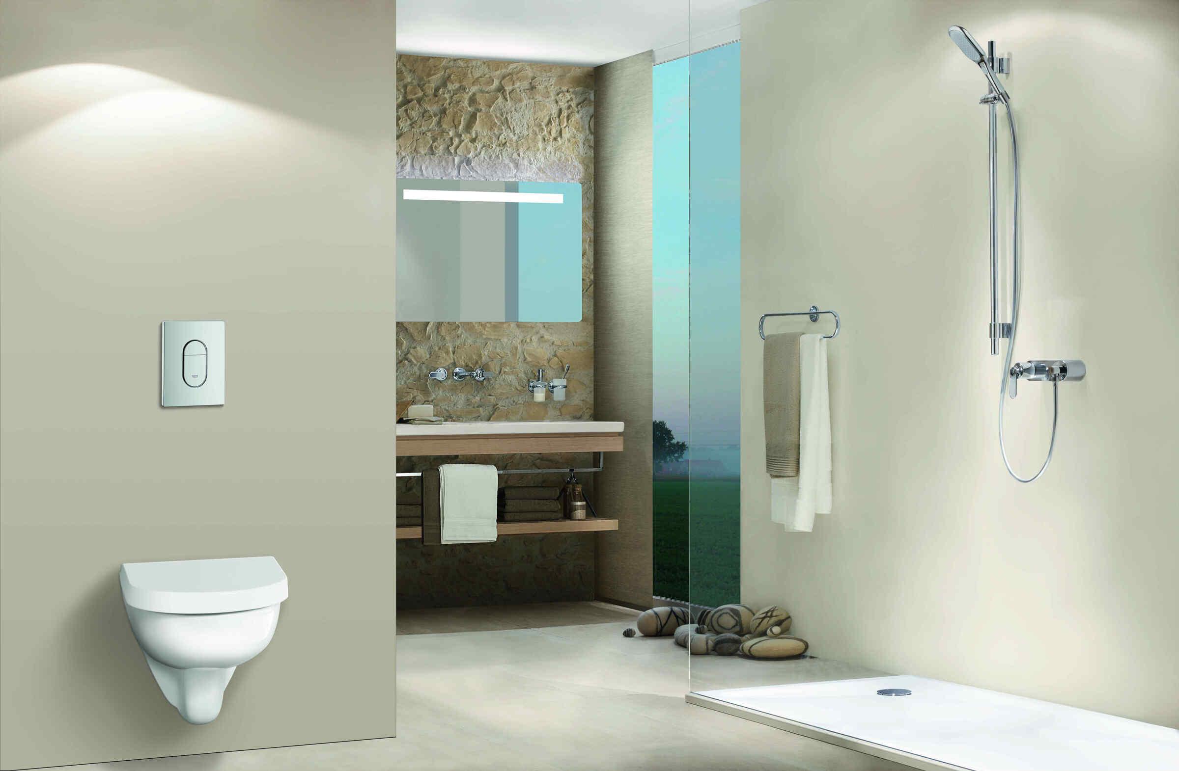Badezimmer  Individuell geplant  VARIOHAUS Fertigteilhuser