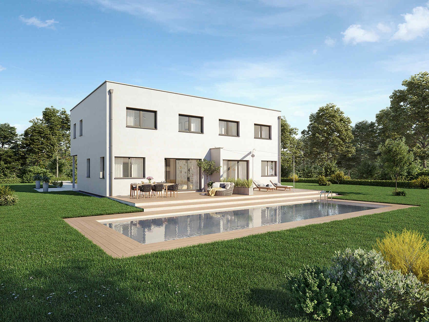 Doppelhaus Bauen Österreich | Doppelhaus Kaufen | Vario-Haus