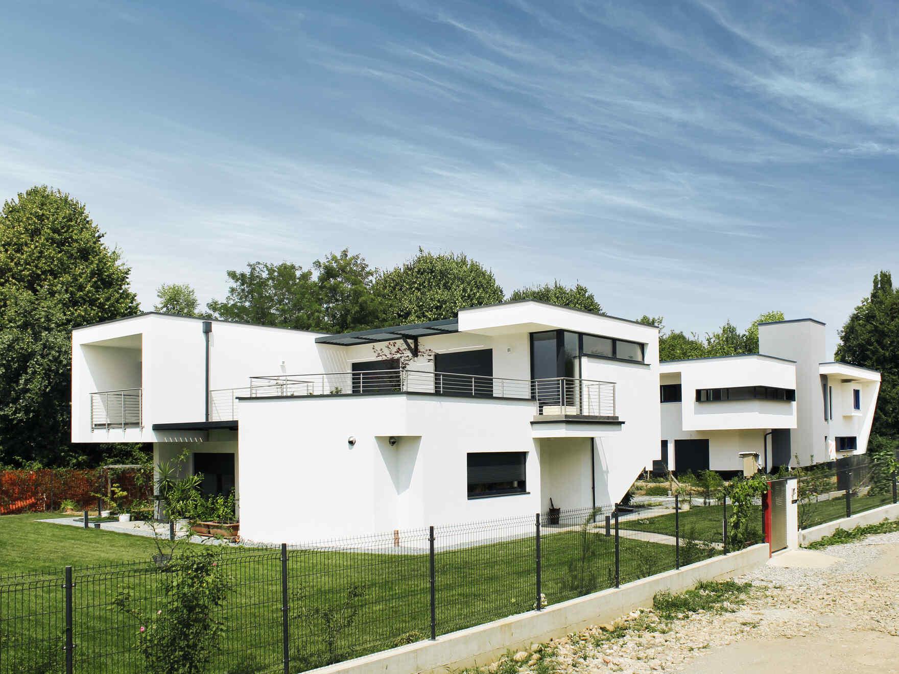 Architects Villa Milano  LINEA ARCHITECTS  VARIOHAUS case prefabbricate