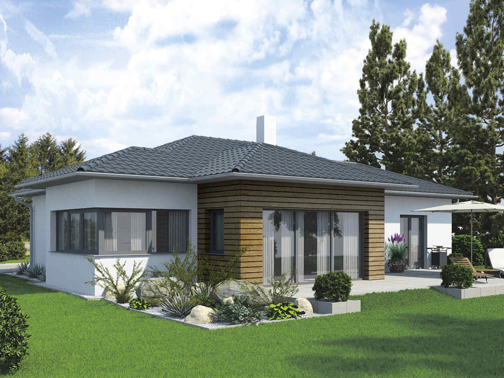 Bungalow S141 2 Appartements  Concept Bungalow  A New