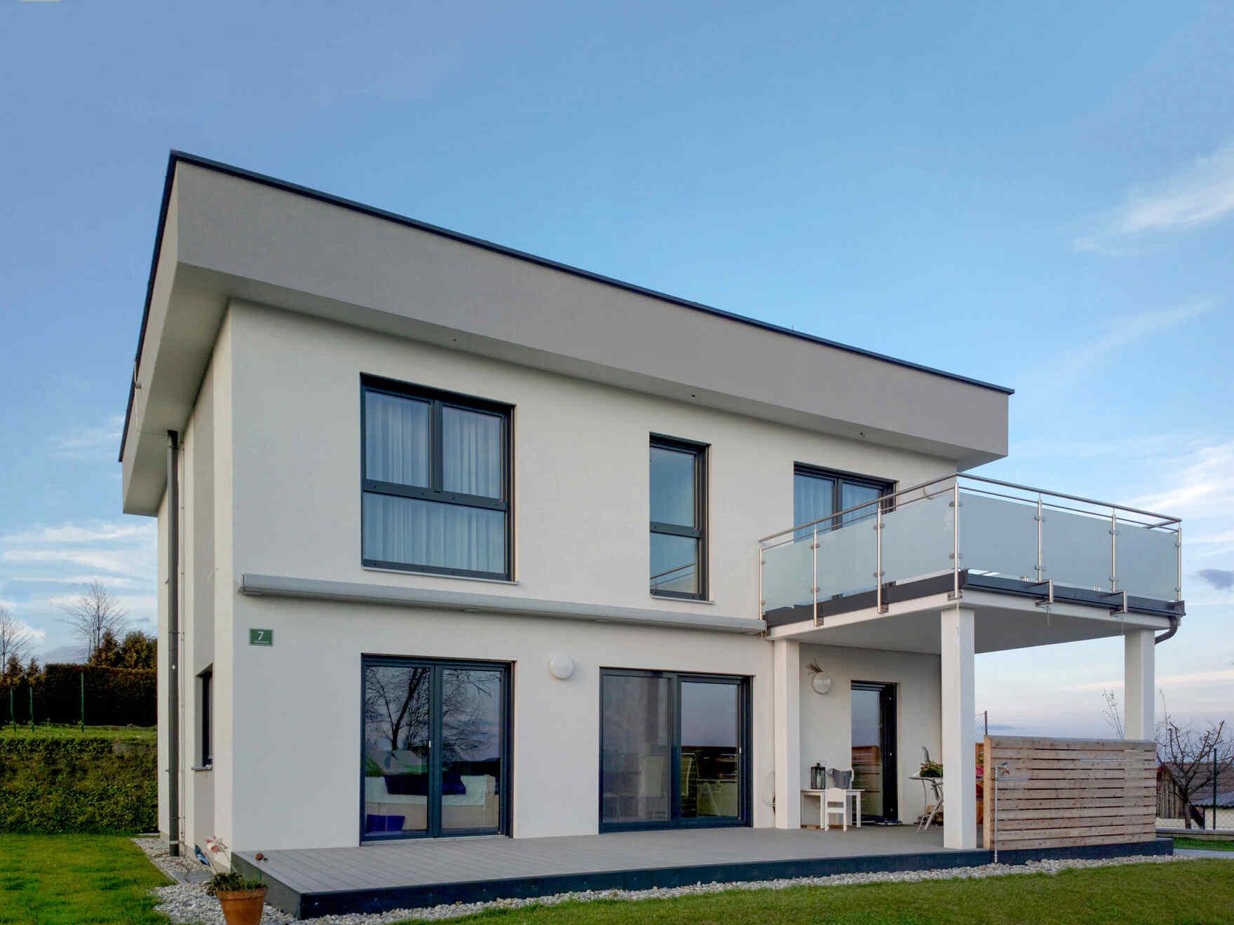 Fertighaus, Fertigteilhaus - Vario-Haus Bauen