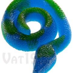 Green Apple Kitchen Decor Design A Giant Gummy Snake: Two-toned Candy Snake Is Over 2 Feet Long.