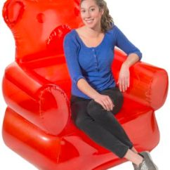 Inflatable Chair Canada Can You Paint A Faux Leather Gummy Bear Candy Shaped Furniture