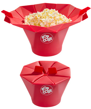 poptop popcorn popper silicone microwave popcorn popper
