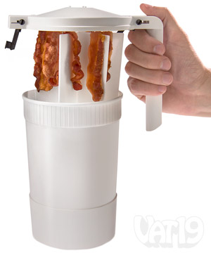 wow bacon microwave crispy bacon in minutes without mess