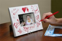 Doodlebook Picture Frame: Design your own picture frame ...