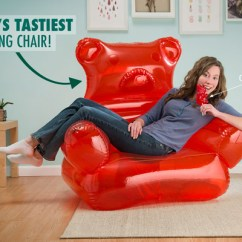 Inflatable Chair Canada Covers For Rent Gta Gummy Bear Candy Shaped Furniture