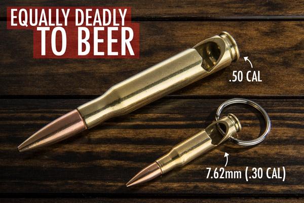 keychain bullet bottle opener