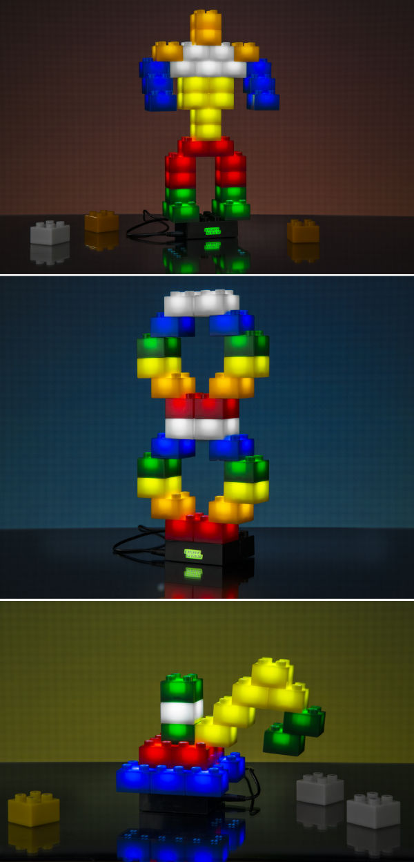Light Stax Building Blocks That Light Up