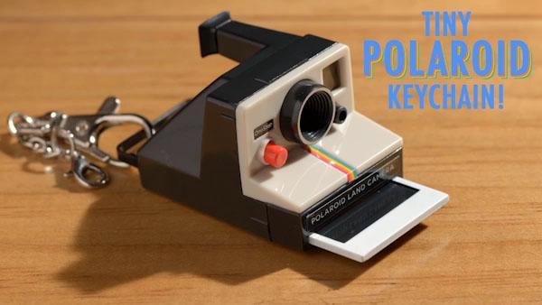 Worlds Coolest Polaroid Keychain