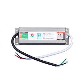 40 WATT, 24 VOLT CONSTANT VOLTAGE LED DRIVER (IP-66)