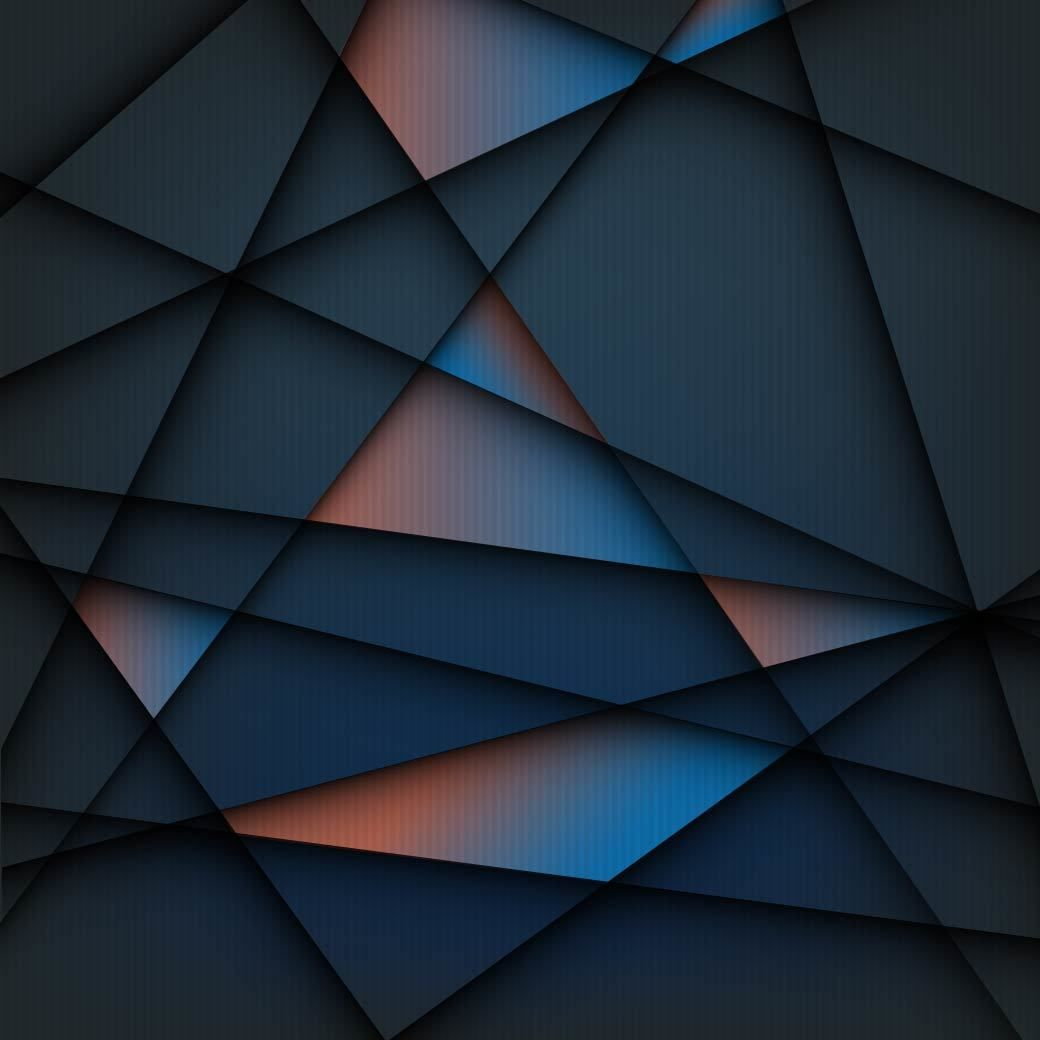 Creative Geometric Lines Tiled Background