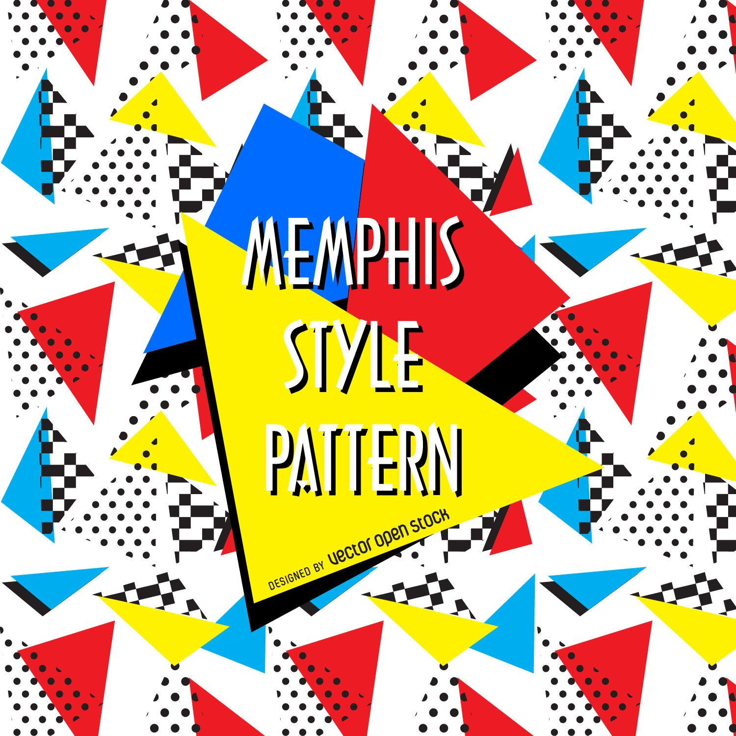memphis vector graphics to