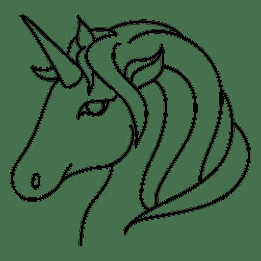Unicorn Face Clipart