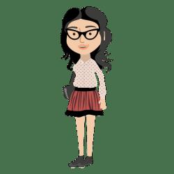 cartoon character hipster chica transparent vector svg dibujos animados personaje personajes profession businessman animation psd imagen rapariga vexels categories minecraft