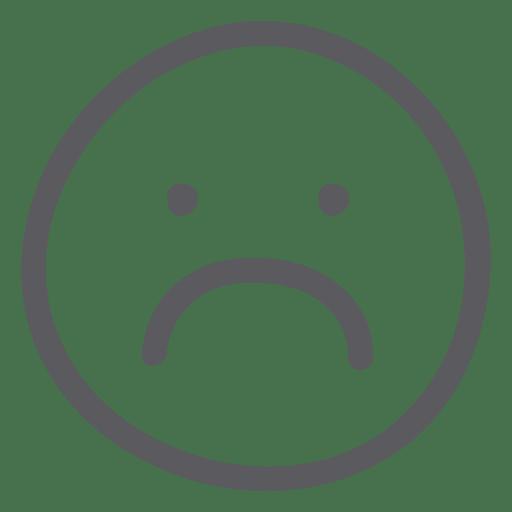 emoji emoticon sad face