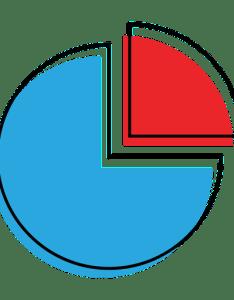 Graph pie chart icon also transparent  svg vector rh vexels