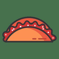 empanada icon transparent vector svg logos file vectors vexels