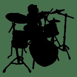 drummer silhouette baterista silueta solo silhueta drawing transparent svg tambor drum vector solista musical instruments clipart player guitar musician tambores