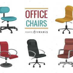 Office Chair Illustration Black Gothic Throne Set Vector Download