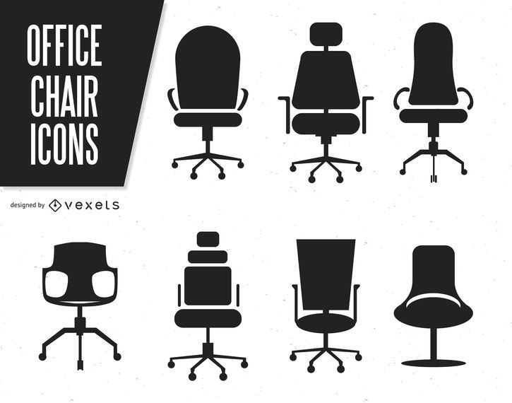 office chair vector computer chairs cheap silhouettes of download