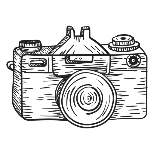 Download free photography camera logo png png with transparent background. Photo camera sketch - Transparent PNG & SVG vector file
