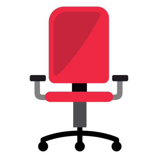 office chair vector chairo red clipart transparent png svg