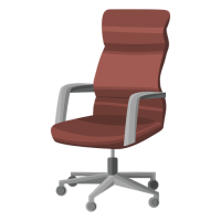 Swivel office chair clipart - Transparent PNG & SVG vector