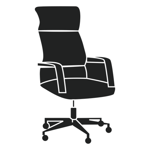 swivel chair em portugues accent chairs home goods office flat icon transparent png svg vector